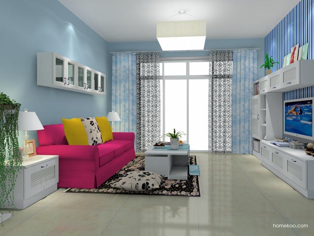 韩式田园客厅家具D8174