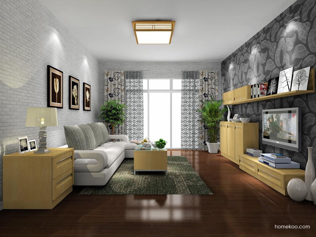 丹麦本色客厅家具D8169