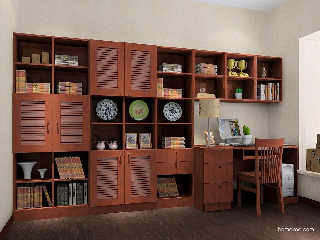 新中式主义书房家具C9370