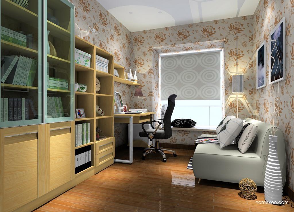 丹麦本色书房家具C9365