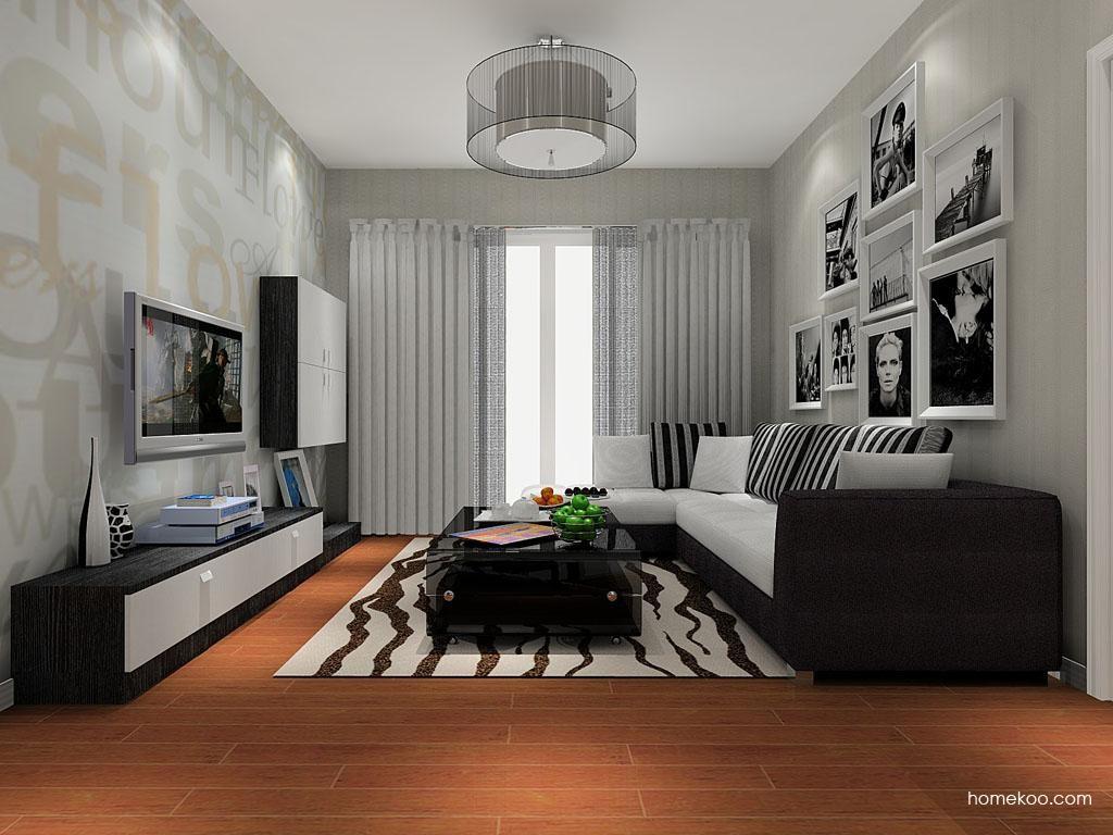 简约主义客厅家具D8179