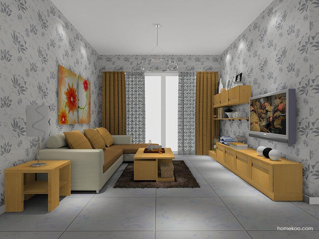 丹麦本色客厅家具D8185