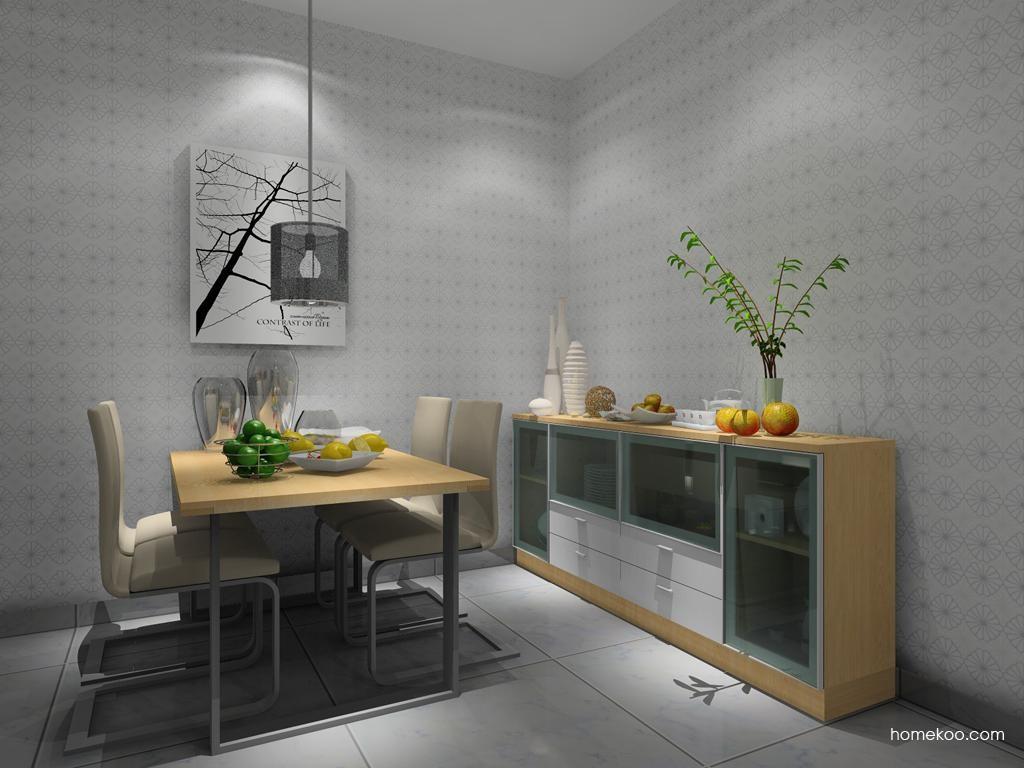 新实用主义餐厅家具E8186