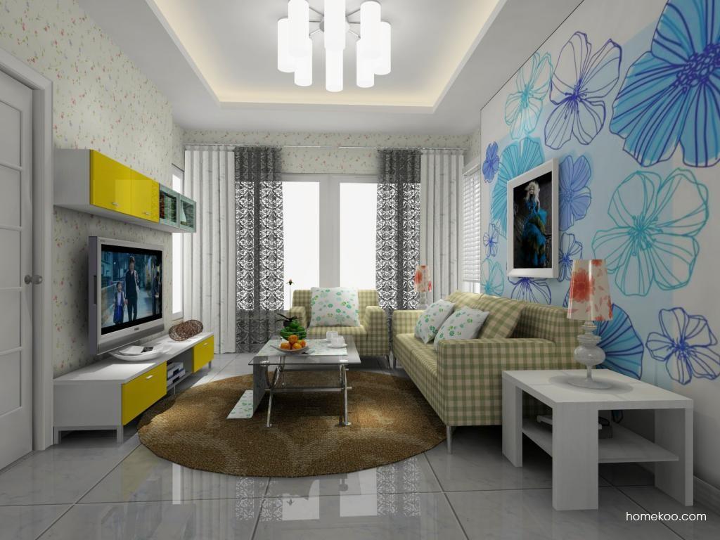 浪漫主义客厅家具D8205