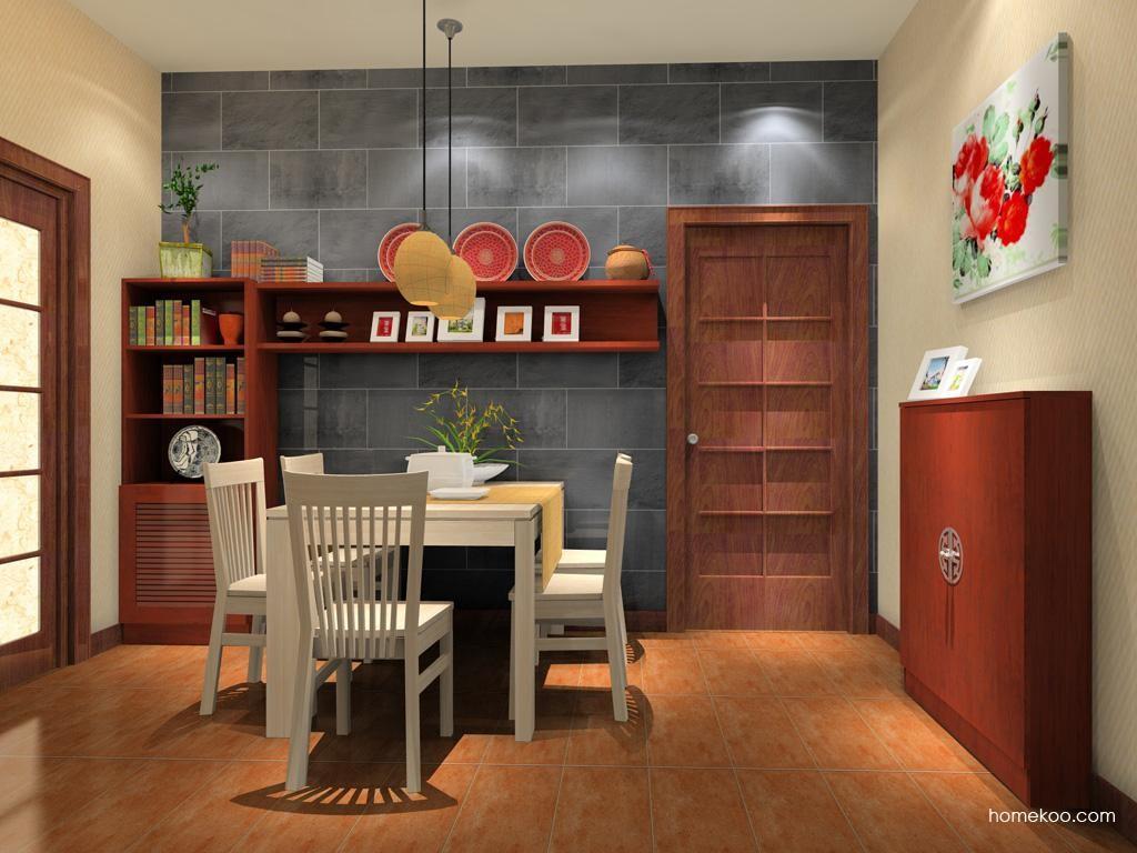 新中式主义餐厅家具E8209