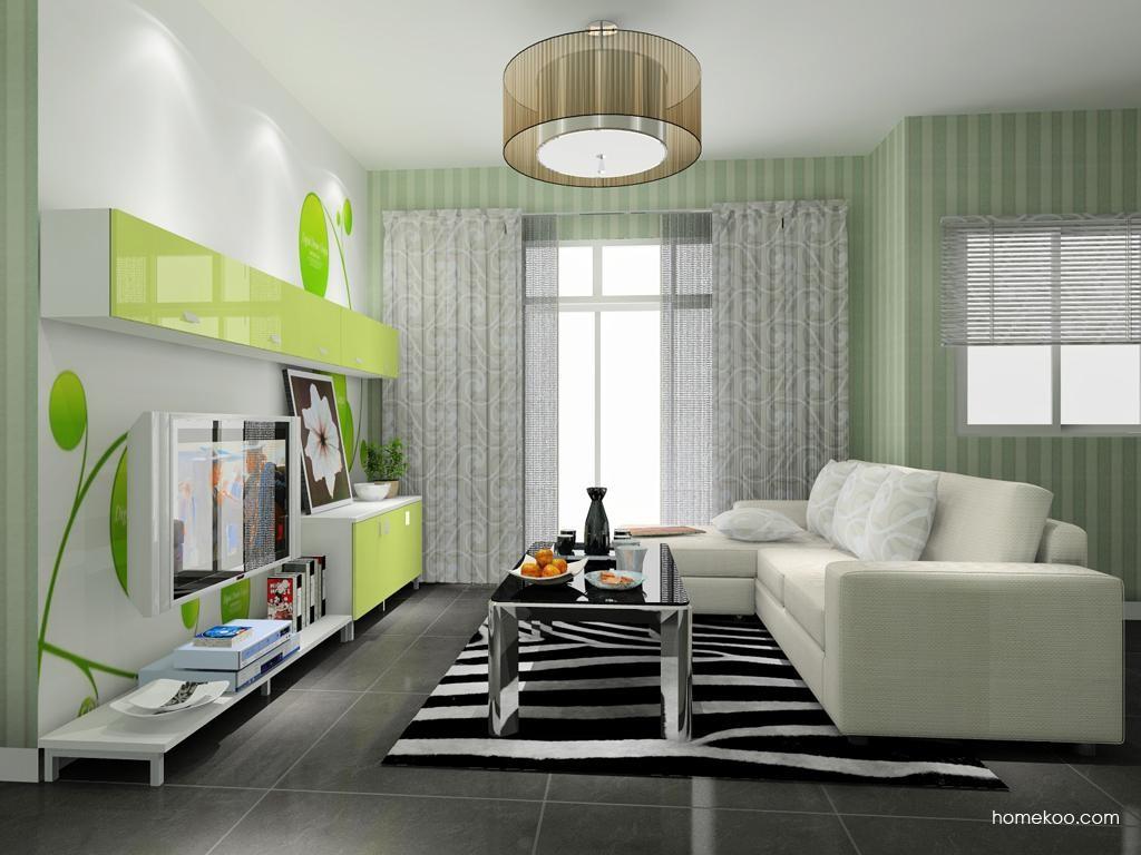 浪漫主义客厅家具D8218