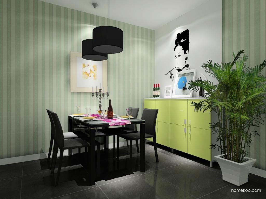 浪漫主义餐厅家具E8216