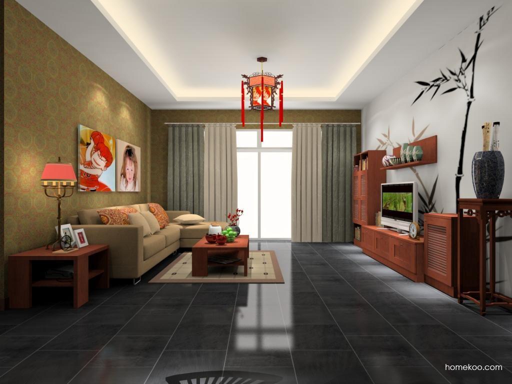 新中式主义客厅家具D8216
