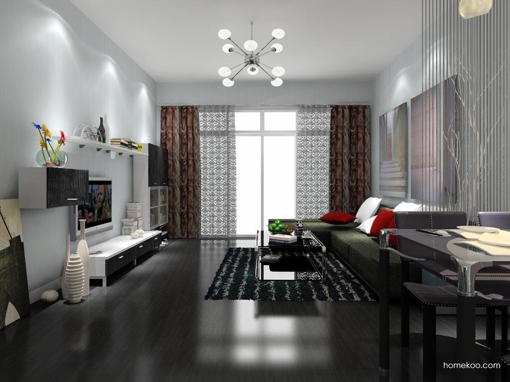简约主义客厅家具D8220