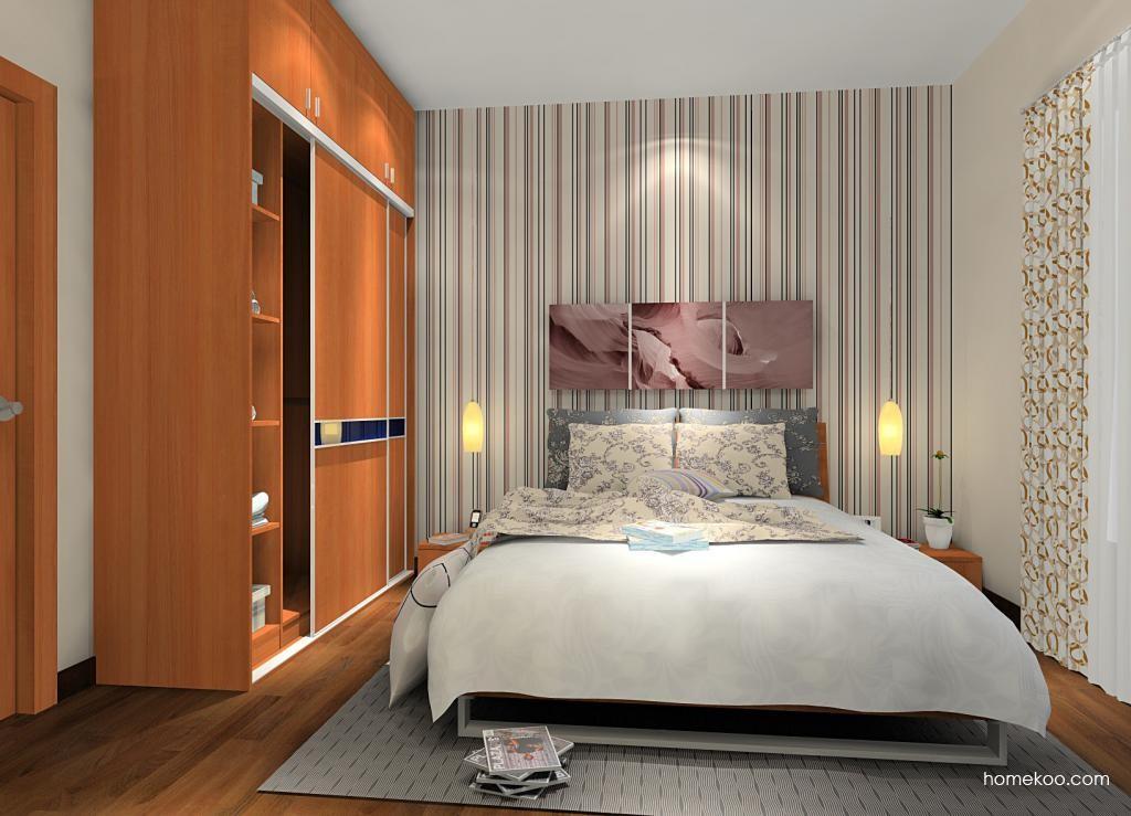 新实用主义卧房家具A9895