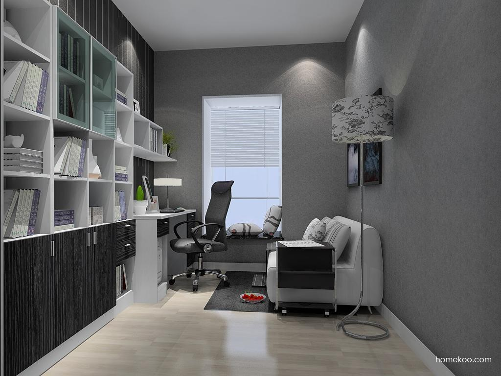 新实用主义书房家具C9382