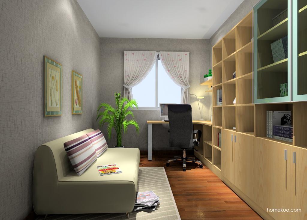 新实用主义书房家具C9385