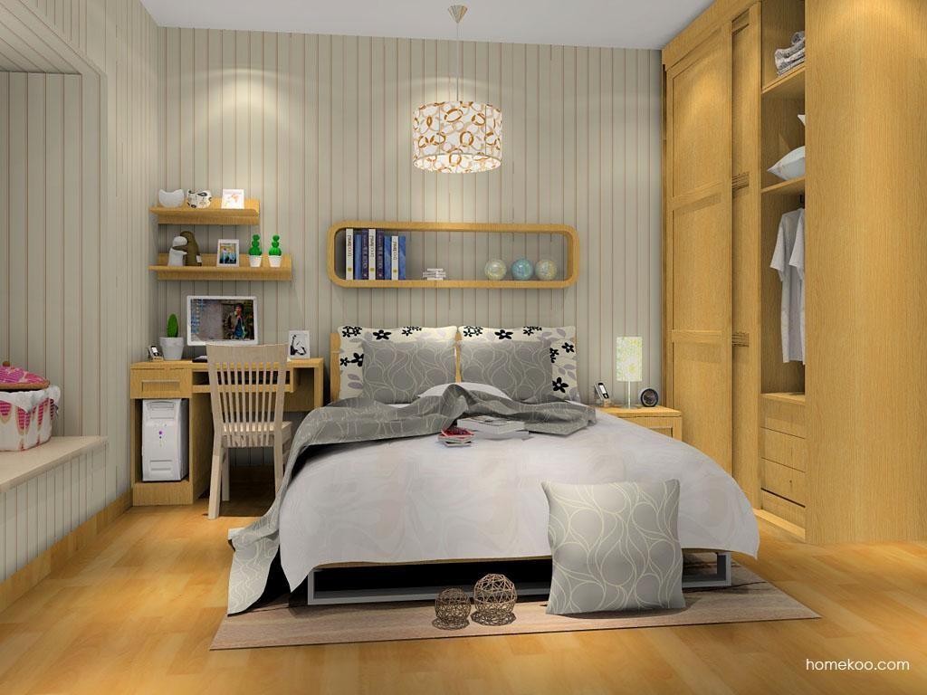 丹麦本色卧房家具A9919