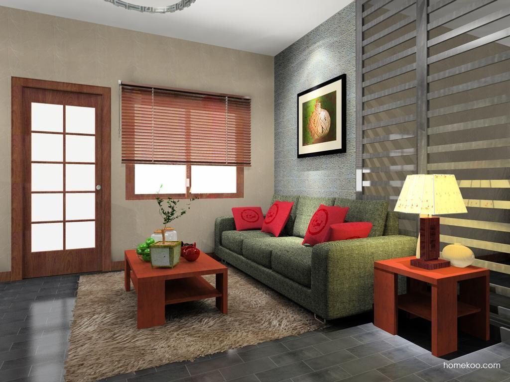 新中式主义客厅家具D8228