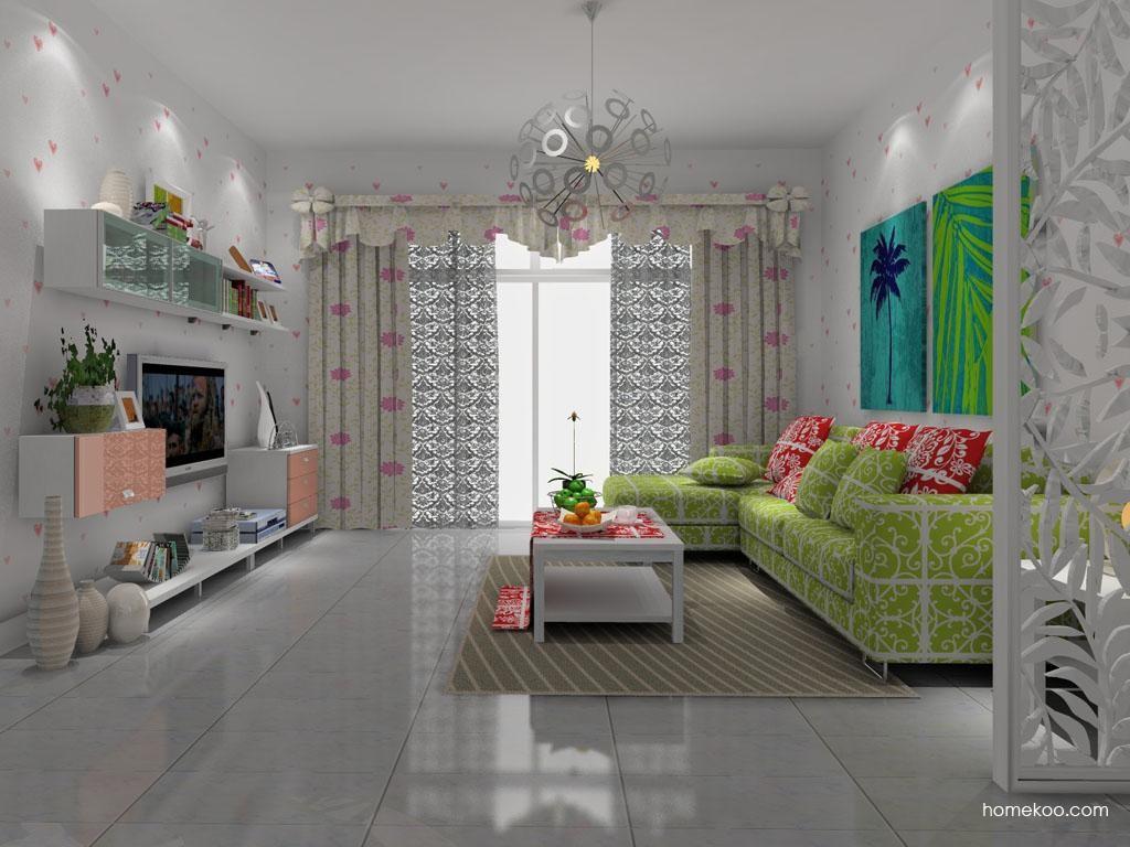 浪漫主义客厅家具D8247