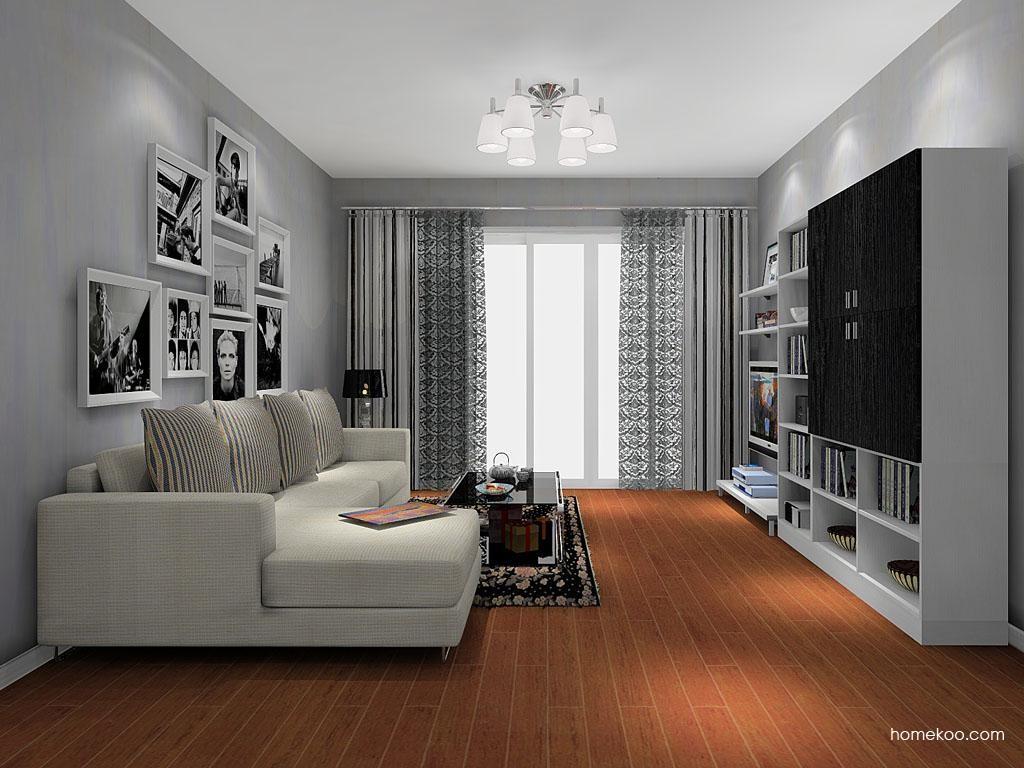 简约主义客厅家具D8239