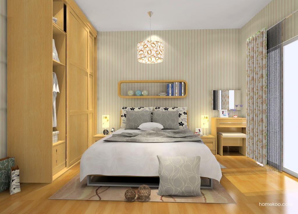 丹麦本色卧房家具A9969