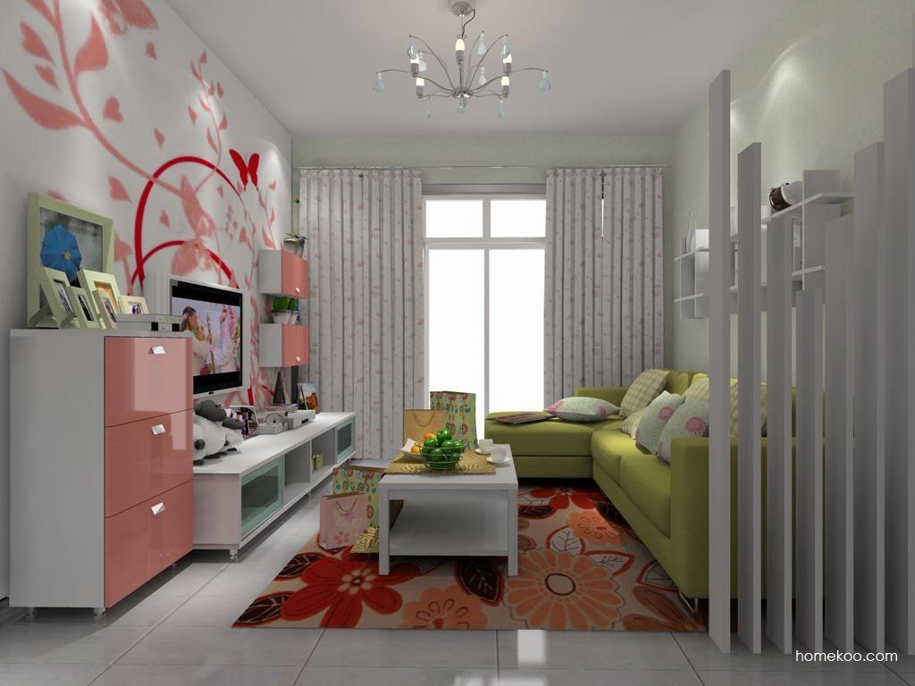浪漫主义客厅家具D8263
