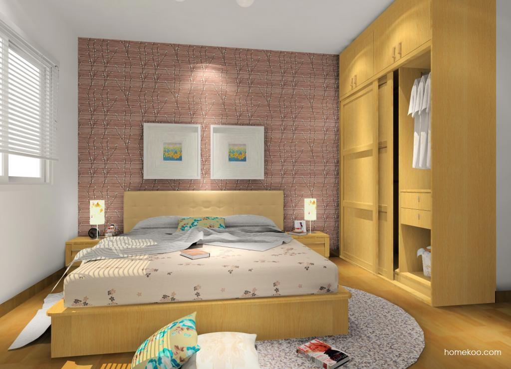 丹麦本色卧房家具A10042