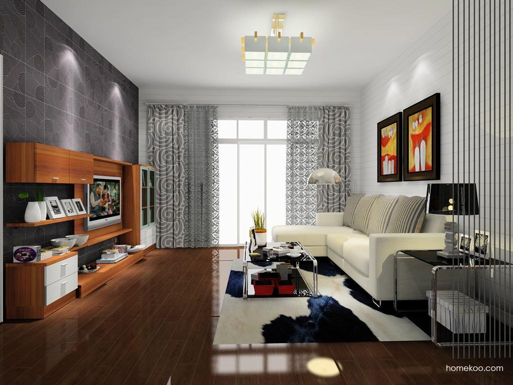 新实用主义客厅家具D8258