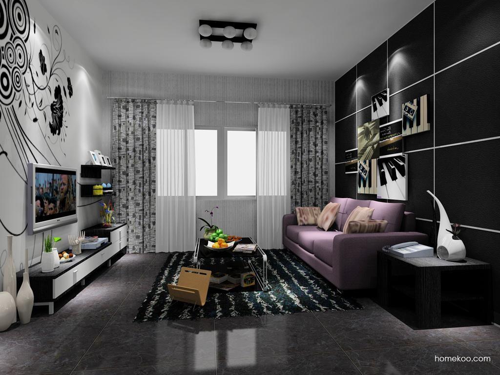 简约主义客厅家具D8256