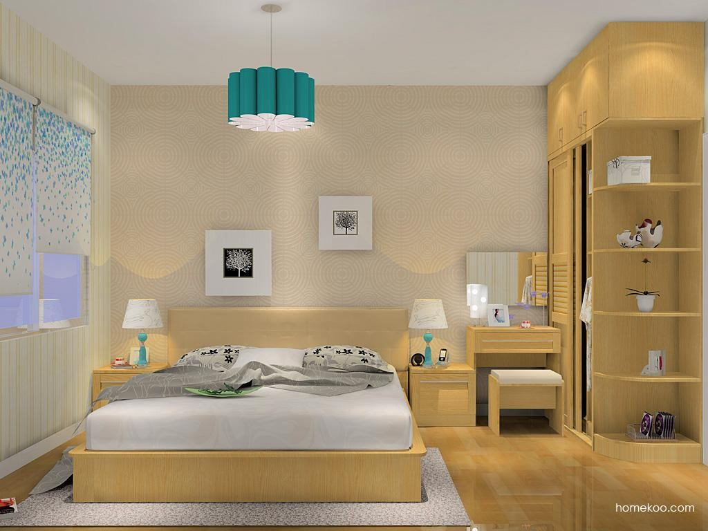丹麦本色卧房家具A10015