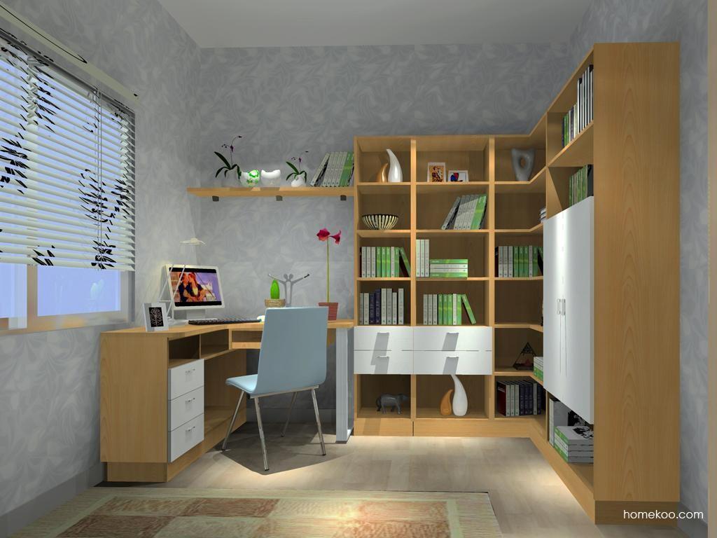 新实用主义书房家具C9437