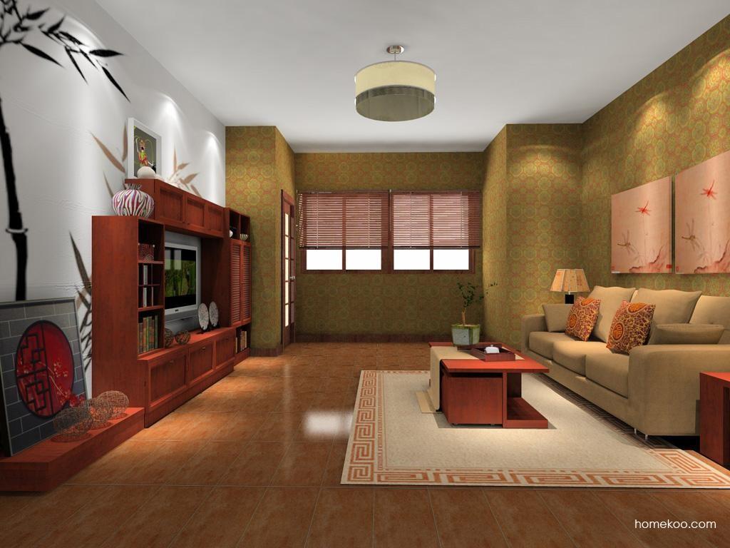 新中式主义客厅家具D8281