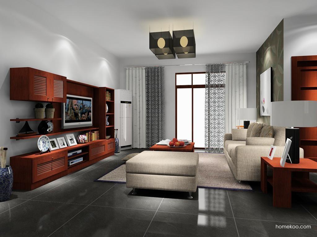 新中式主义客厅家具D8275