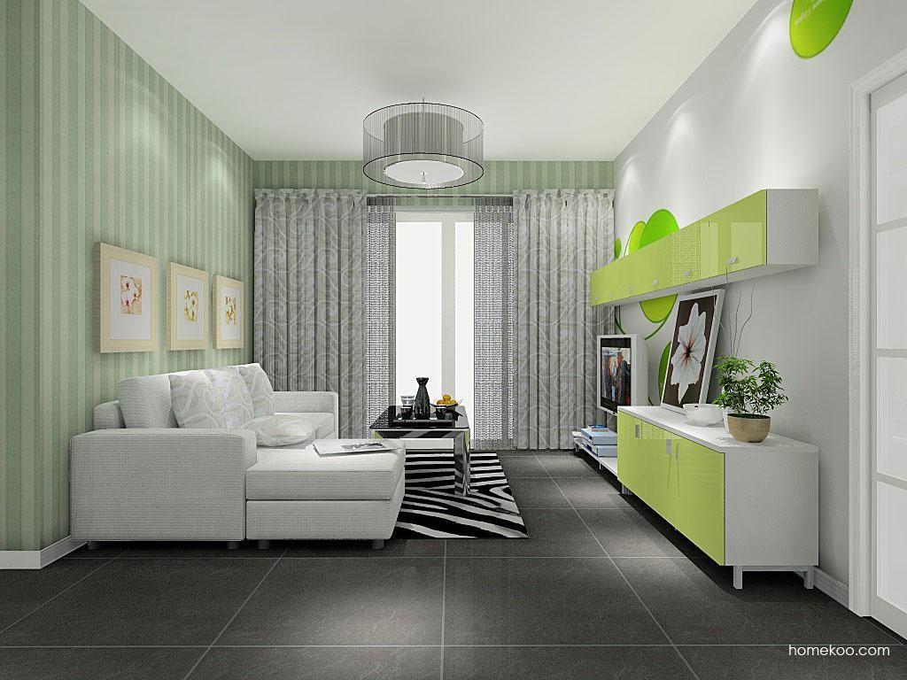 浪漫主义客厅家具D8302