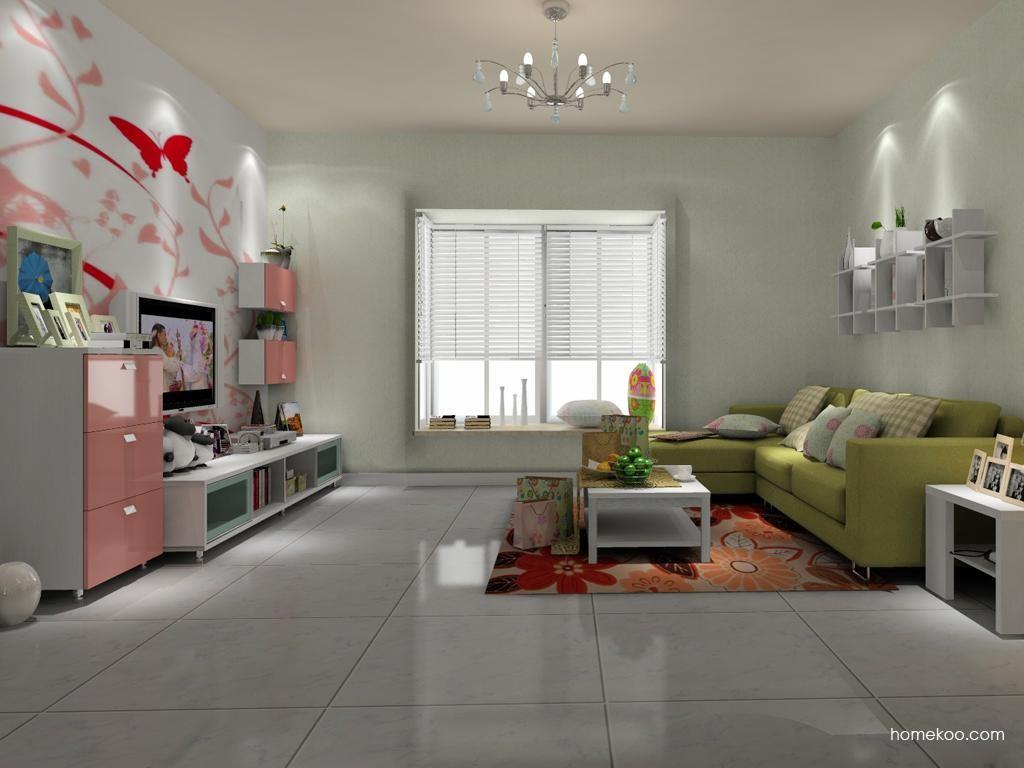 浪漫主义客厅家具D8335