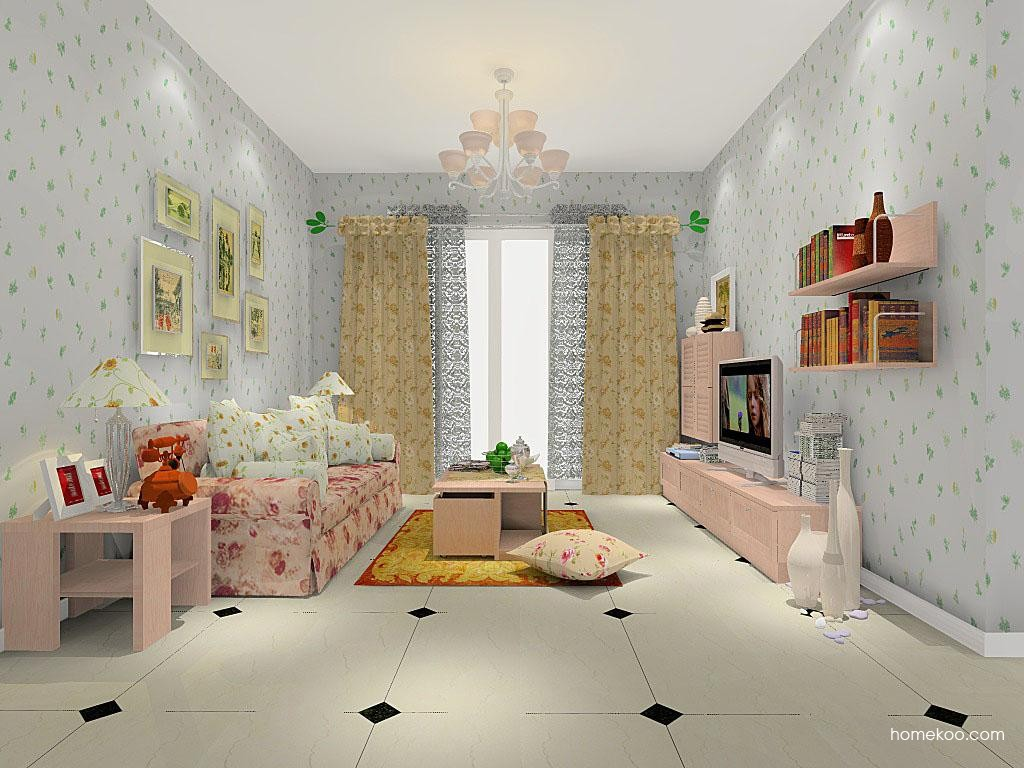 北欧阳光客厅家具D8340