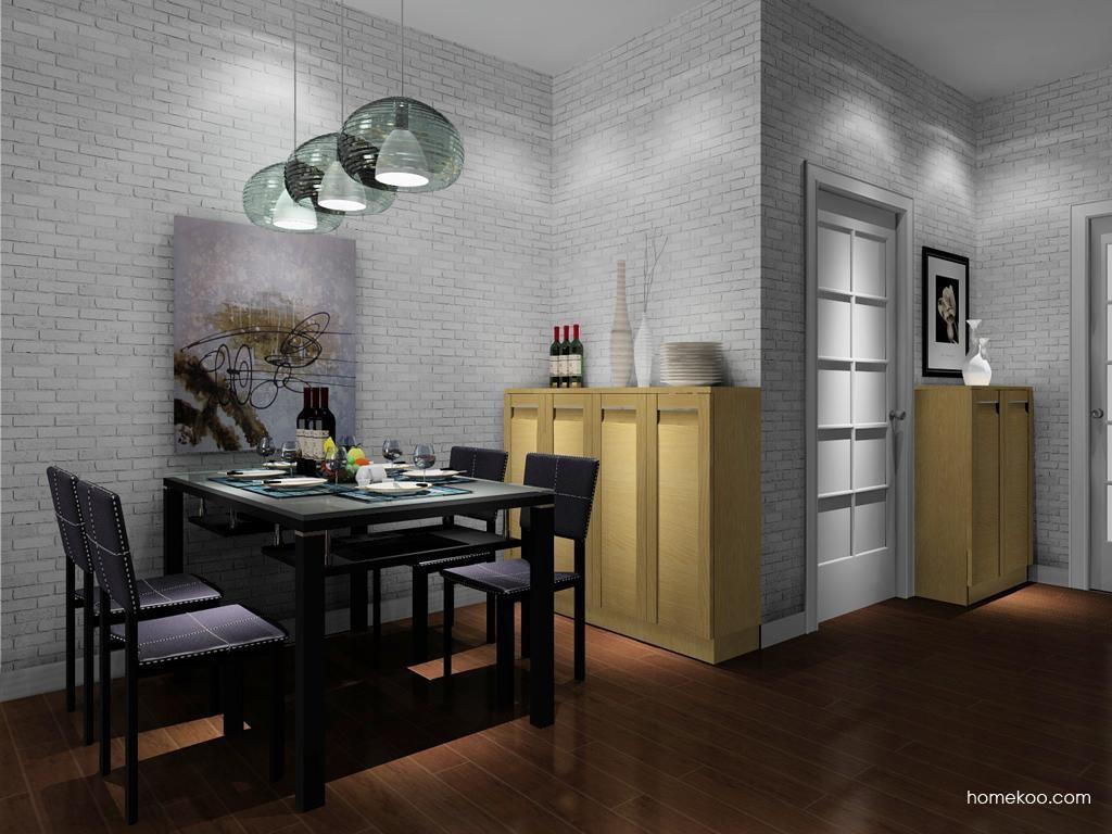 丹麦本色餐厅家具E8350