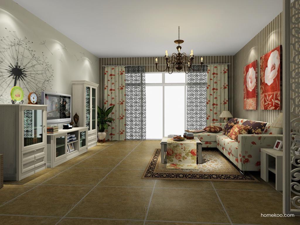 英伦印象客厅家具D8349