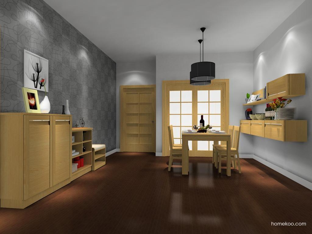 丹麦本色餐厅家具E8341