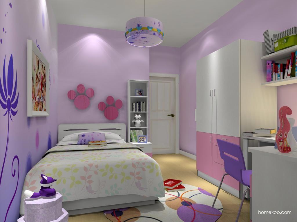 女孩的梦青少年房B10208