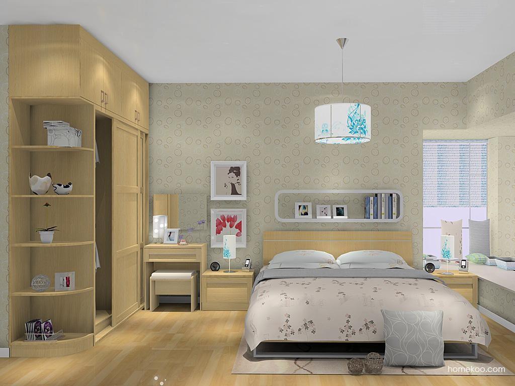 丹麦本色卧房家具A10300