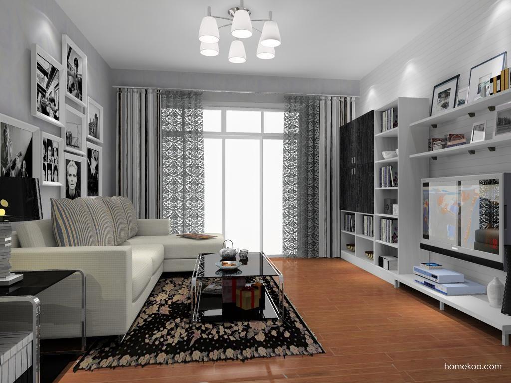 简约主义客厅家具D8362