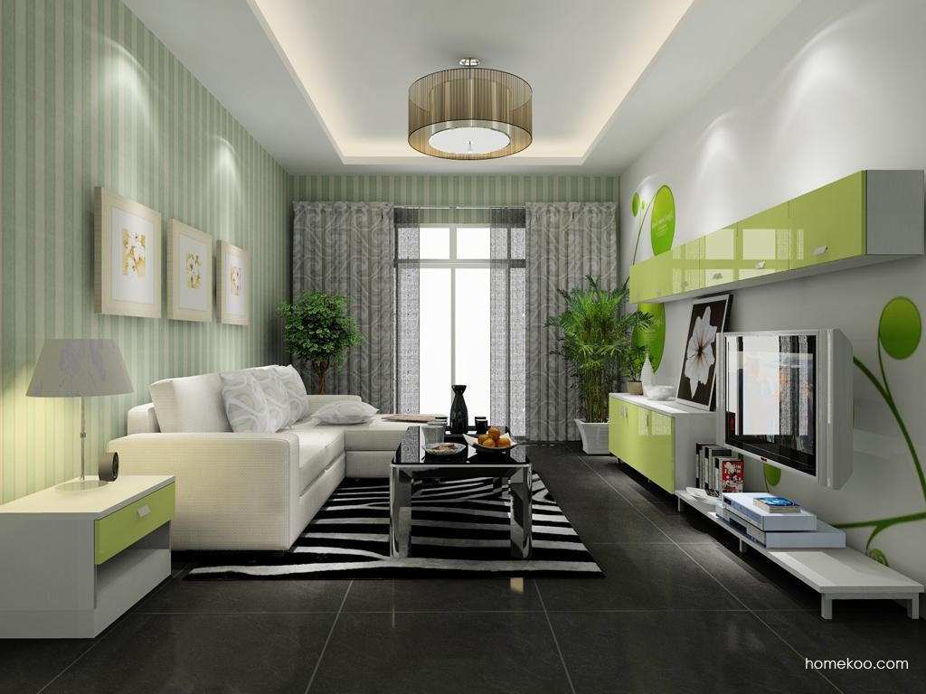 浪漫主义客厅家具D8378
