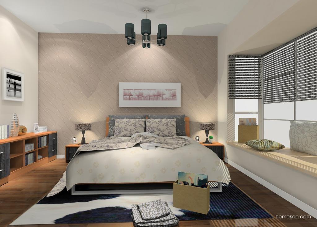 新实用主义卧房家具A10360