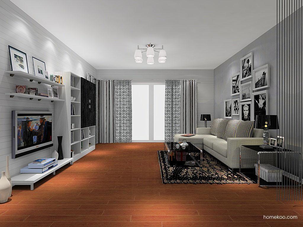 简约主义客厅家具D8368