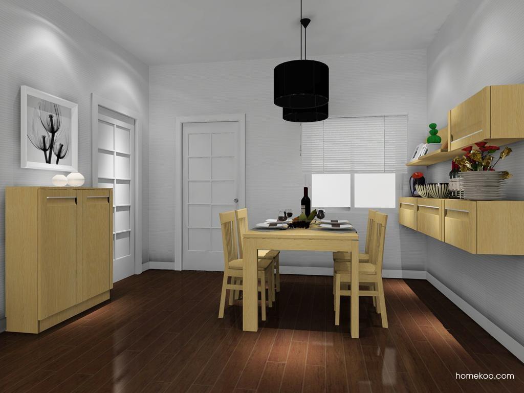 丹麦本色餐厅家具E8371