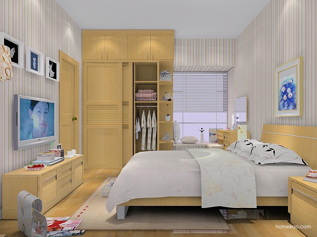丹麦本色卧房家具A10319