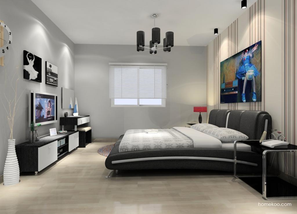 简约主义卧房家具A10354