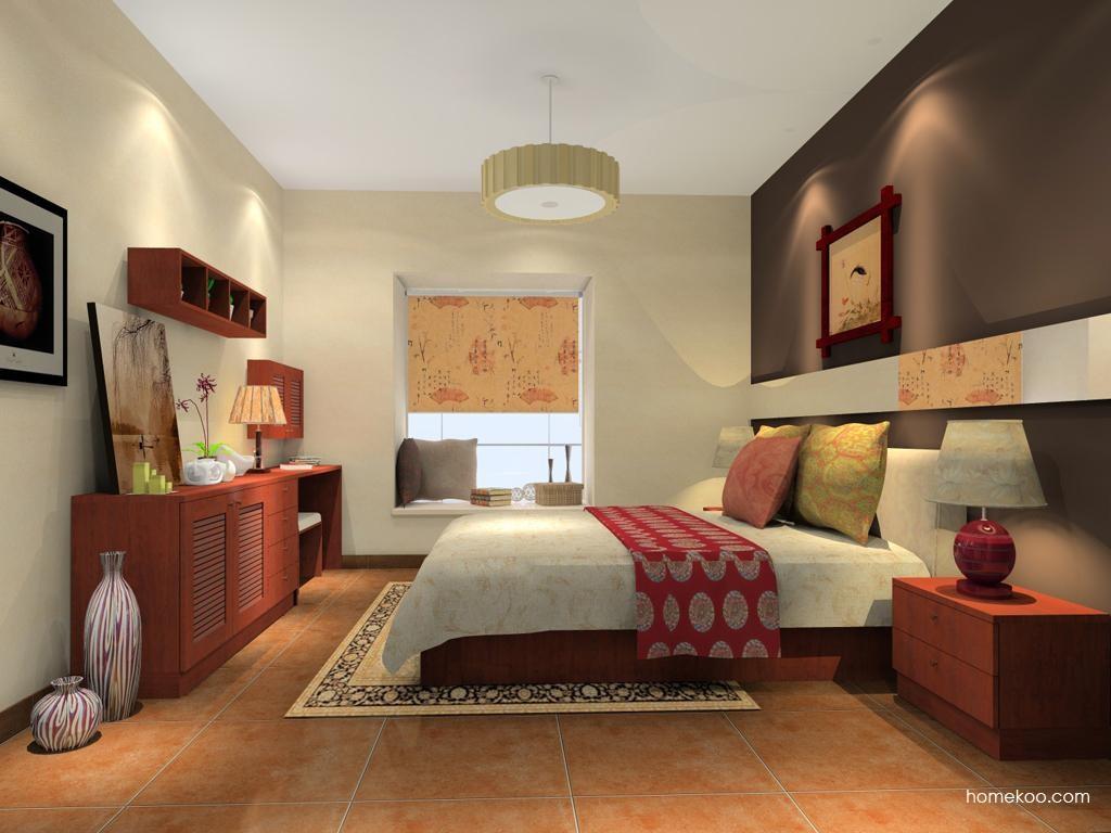 新中式主义卧房家具A10353