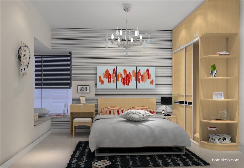 新实用主义卧房家具A10332