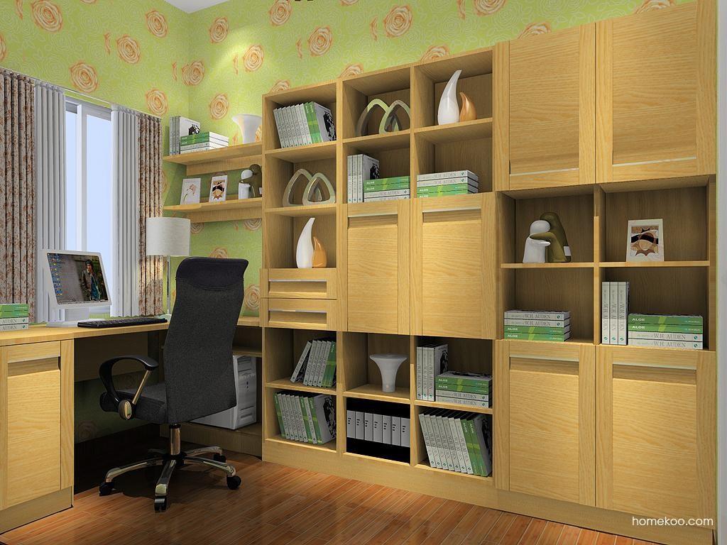 丹麦本色书房家具C10341