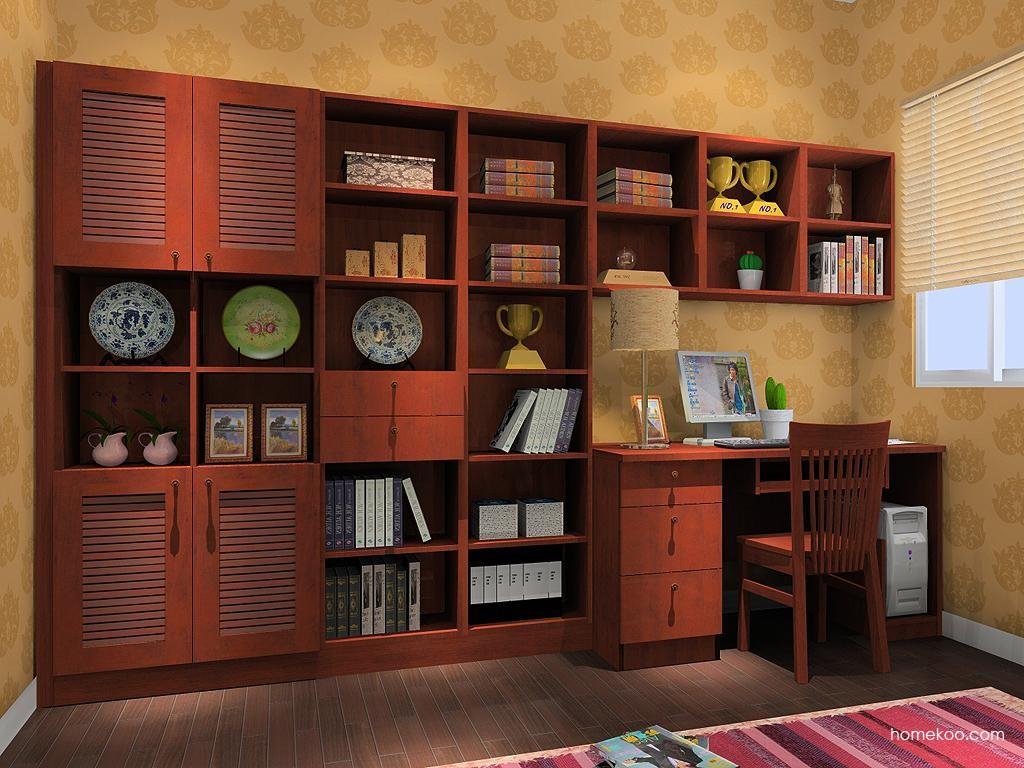 新中式主义书房家具C10340