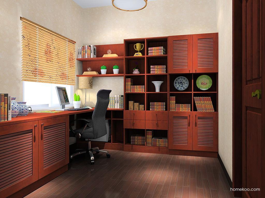 新中式主义书房家具C10339