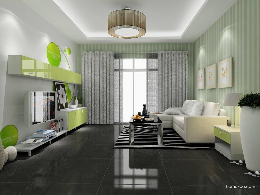 浪漫主义客厅家具D8382